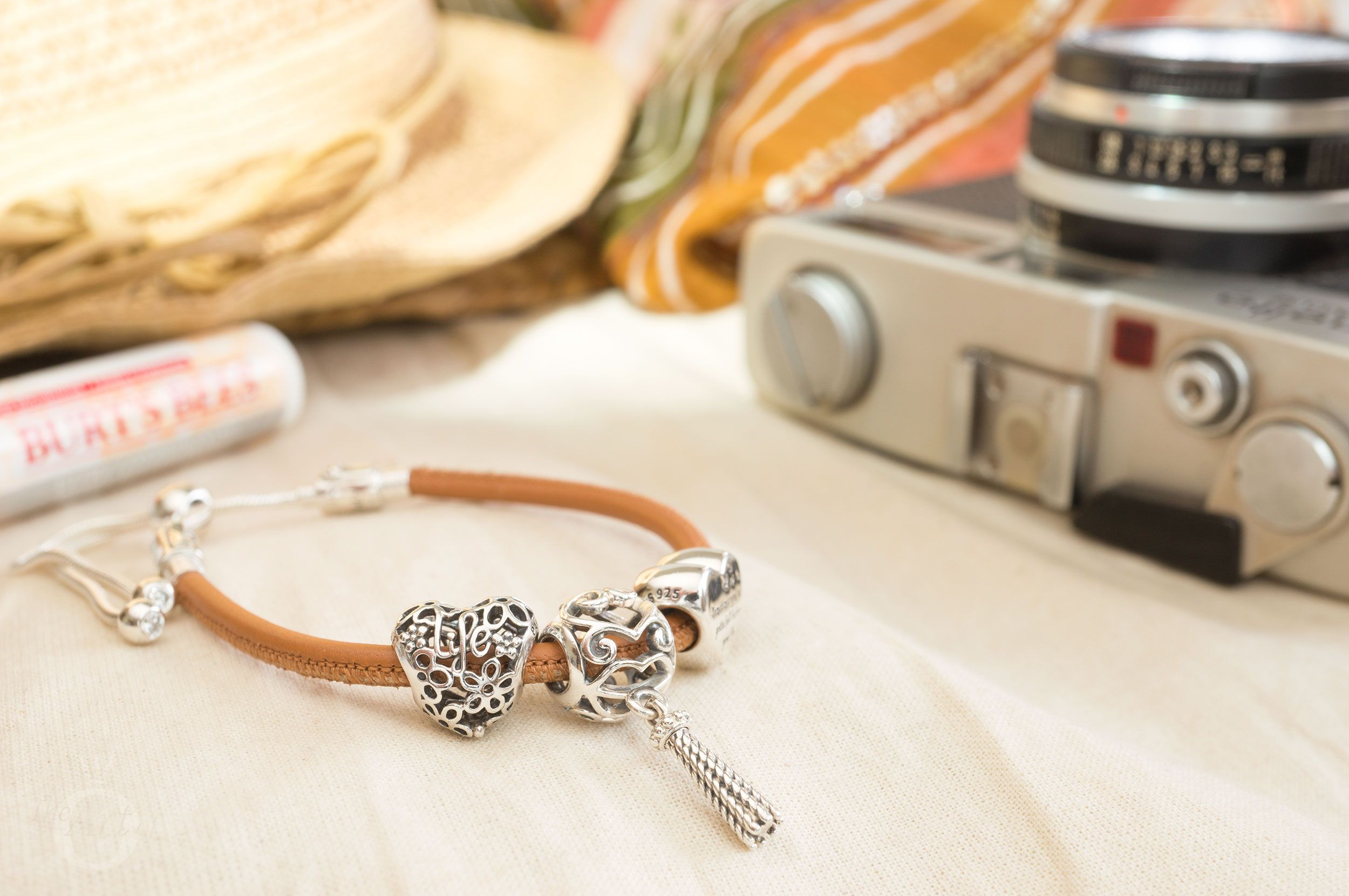 50f0199a8 REVIEW: PANDORA Moments Sliding Leather Bracelet, Golden Tan - The Art of  Pandora | More than just a PANDORA blog