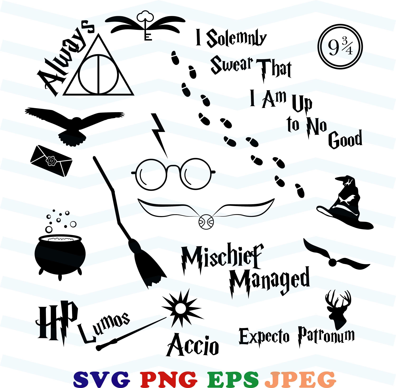 Harry Potter Clip Art Free Cricut Projects T Harry Potter Clip