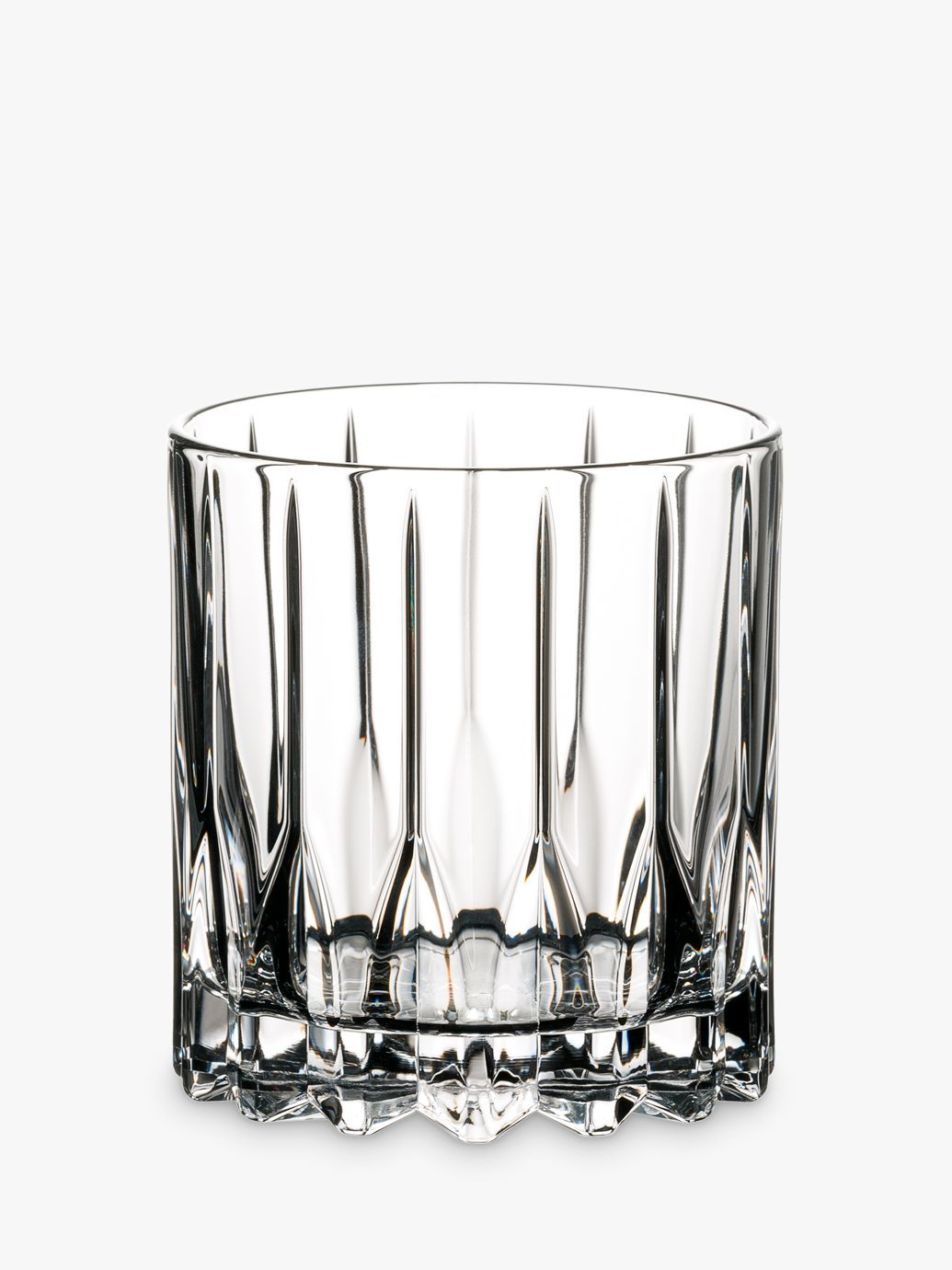 Riedel Bar Neat Crystal Glass Tumblers Set Of 2 174ml Clear Crystal Glassware Bar Glassware Glass Tumbler