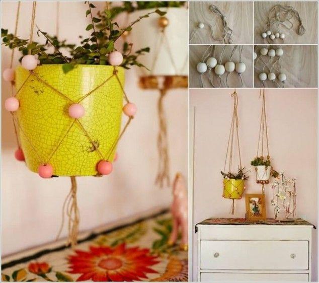 ideas jardineras colgantes