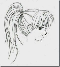 How To Draw For Beginners Step By Step Hair Art Pinterest