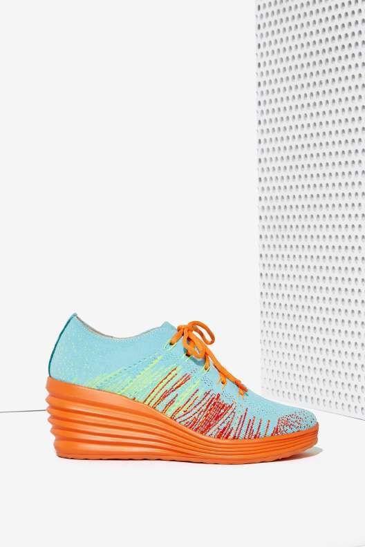 Jeffrey Campbell Inferma Knit Sneaker - Jeffrey Campbell