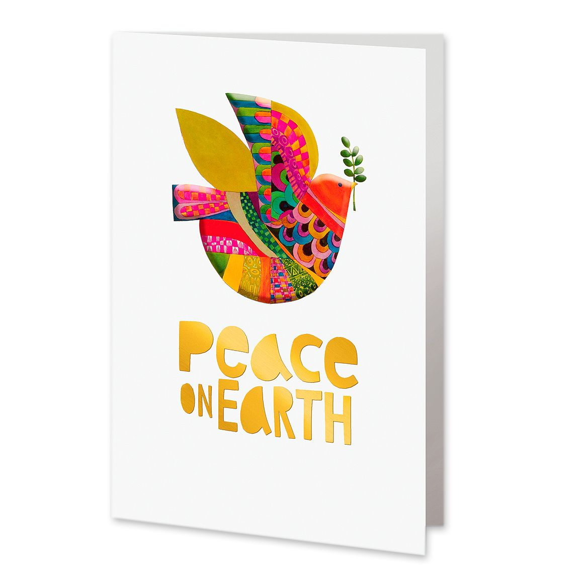 Unicef Market Unicef Multicolor Dove Holiday Greeting Cards Set