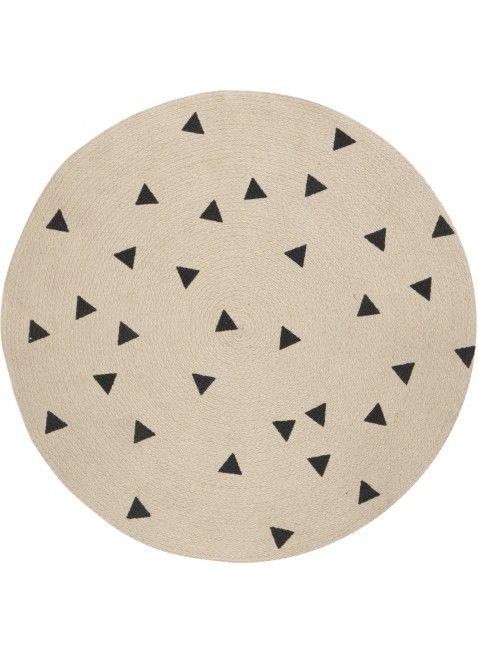 Ferm Living Kinderzimmer Teppich Triangle Furs Baby Pinterest