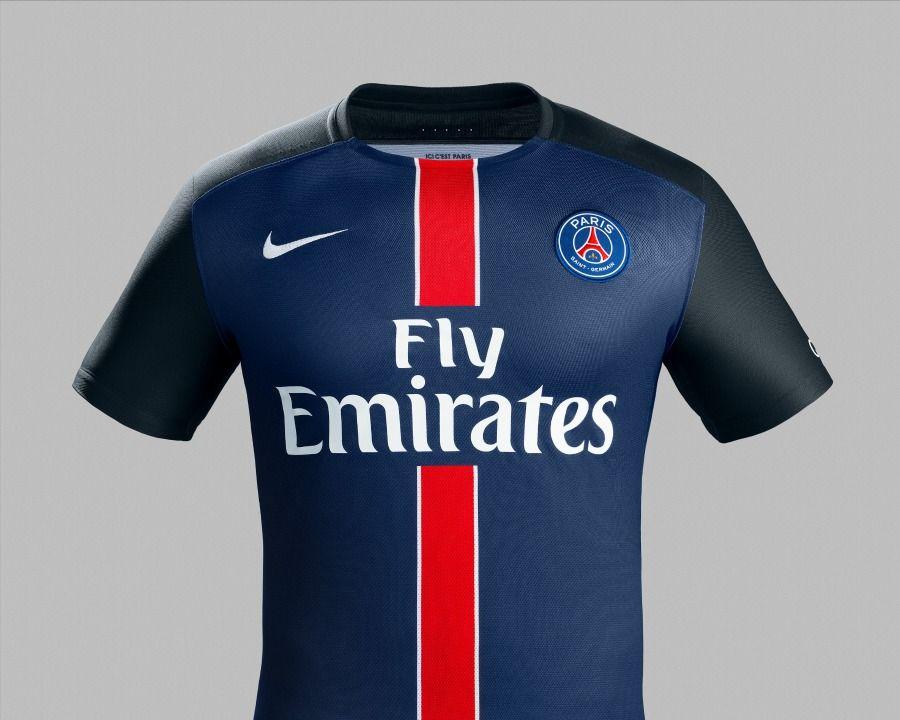 Nike Psg 15 16 Home Kit Eight By Eight Paris Saint Germain Football Shirts Psg