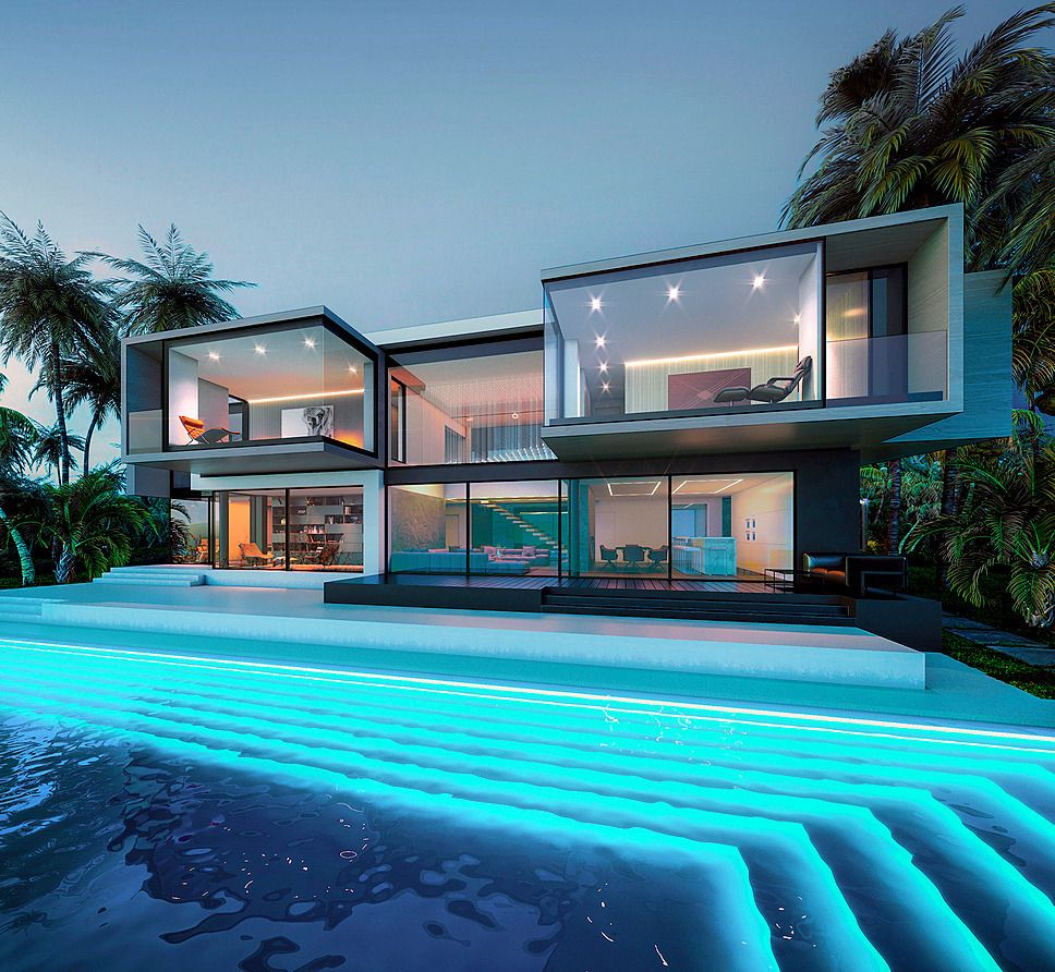 A Imagem Pode Conter Piscina Ceu Casa E Ar Livre Ocean House Luxury Beach House Luxury Homes Dream Houses