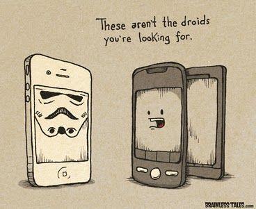Storm Trooper iPhone-> genial!!!!!!!!!!!