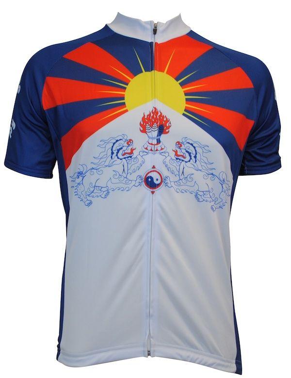 Tibet Flag Cycling Jersey  2c520eeb2