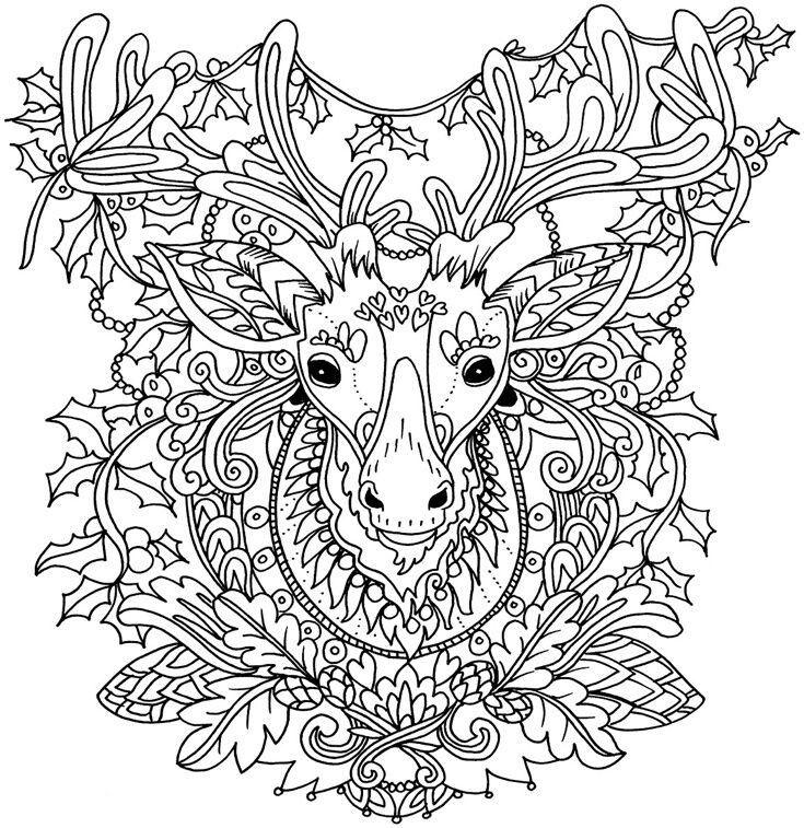 Pin de Elle Andersen en Colouring | Pinterest | Colorin, Mandalas y ...