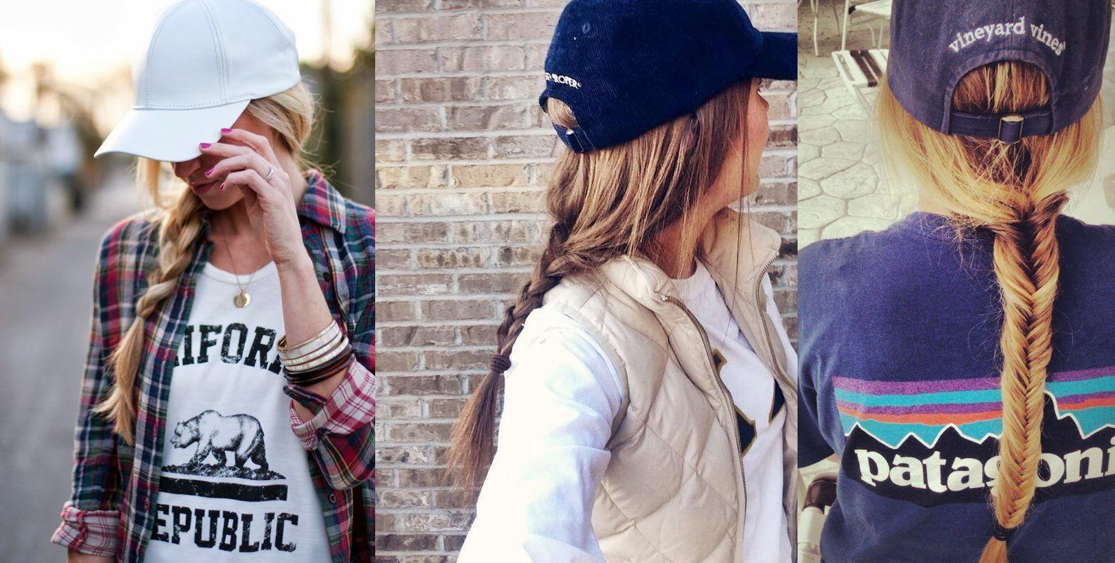 9 hairstyles that look cute under a baseball cap  | baseball