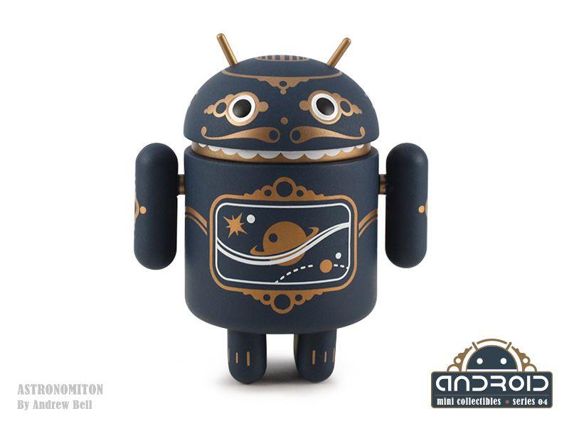 ANDREW BELL ANDROID YELLOW GOOGLE SERIES 04 DEAD ZEBRA DESIGNER TOY ART ROBOT