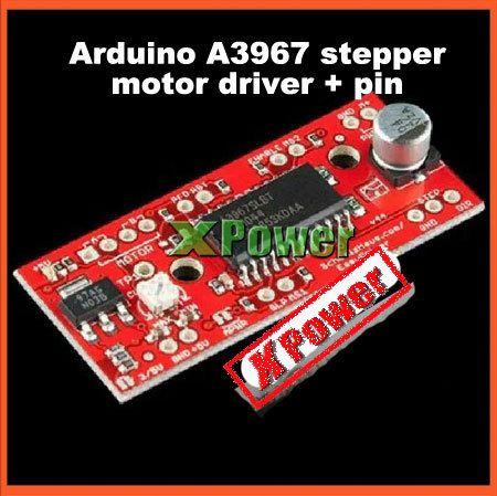 Cheap stepper motor driver kit, Buy Quality stepper motor driver circuit directly from China stepper motor driver Suppliers:            Wholesale XPower 2pcs Newest V4.4 Arduino A3967 Step Motor Drive aboard+Pin Header 7-30V EasyDriv