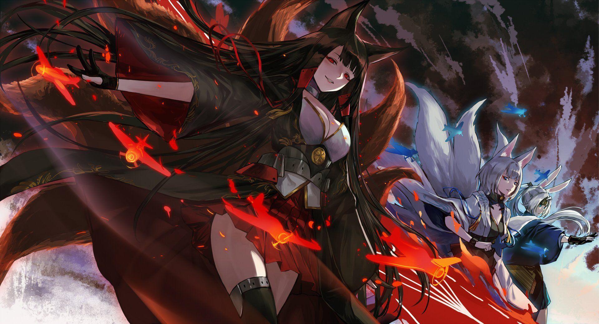 Anime Azur Lane Bilan Hangxian Wallpaper   Arte de anime ...