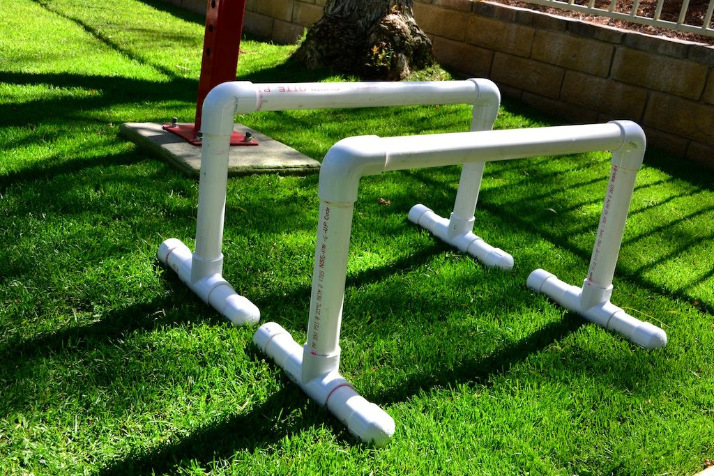 Bars Pvc Low Corner View Gymnastics Diy Pull Up Bar