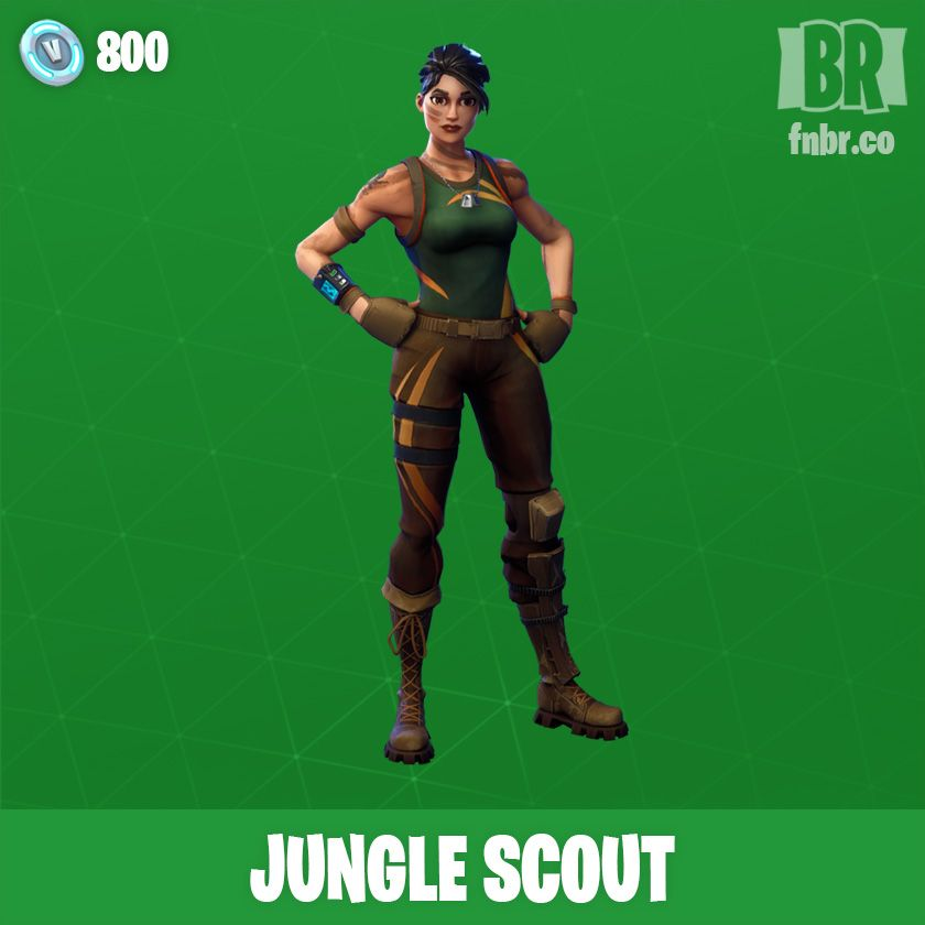 Jungle Scout Outfit Fnbr Co Fortnite Cosmetics With Images