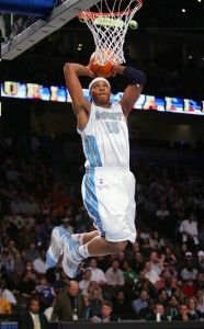 Carmelo Anthony Wearing Air Jordan 20