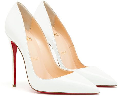 9434c5606d19 Christian Louboutin Kate Patent Leather Pumps in