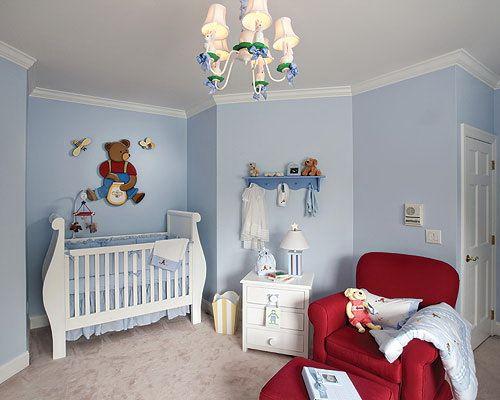 64 Blue Nursery Ideas Recién nacidos, Cuarto bebe y Para bebés