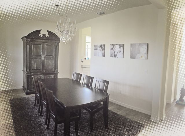 Gothicglam Dining Room DIY Chalkboard Painted Armiore With - Chalkboard accents dining rooms