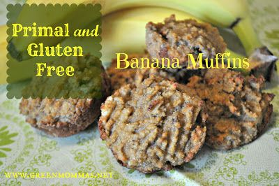 Green Momma: Gluten Free Banana Muffins - These... not so much :(