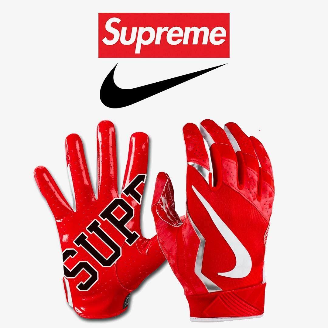 Supreme Leaks News On Instagram Supreme X Nike Vapor Jet 4 0 Football Gloves Releasing This Thursday Cop Or Drop Football Gloves Nike Vapor Gloves
