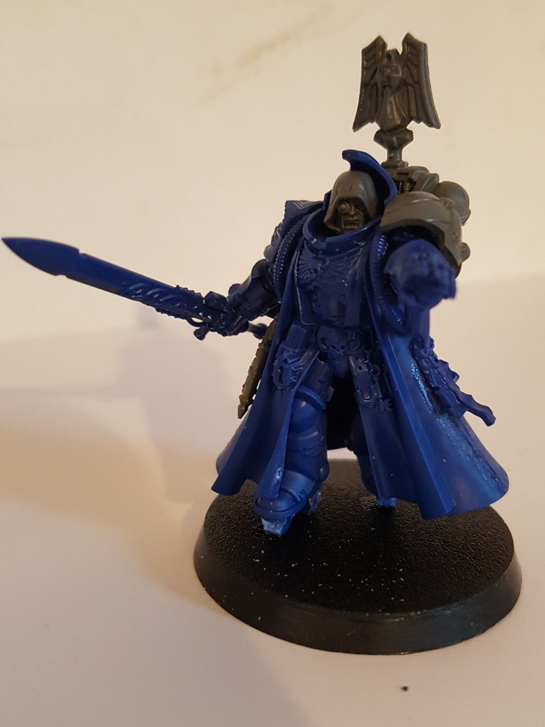Dark Angels Primaris Librarian  Upgrades on this model are