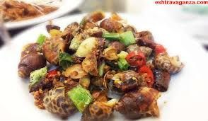 Snail is amazing food! Let enjoy it!