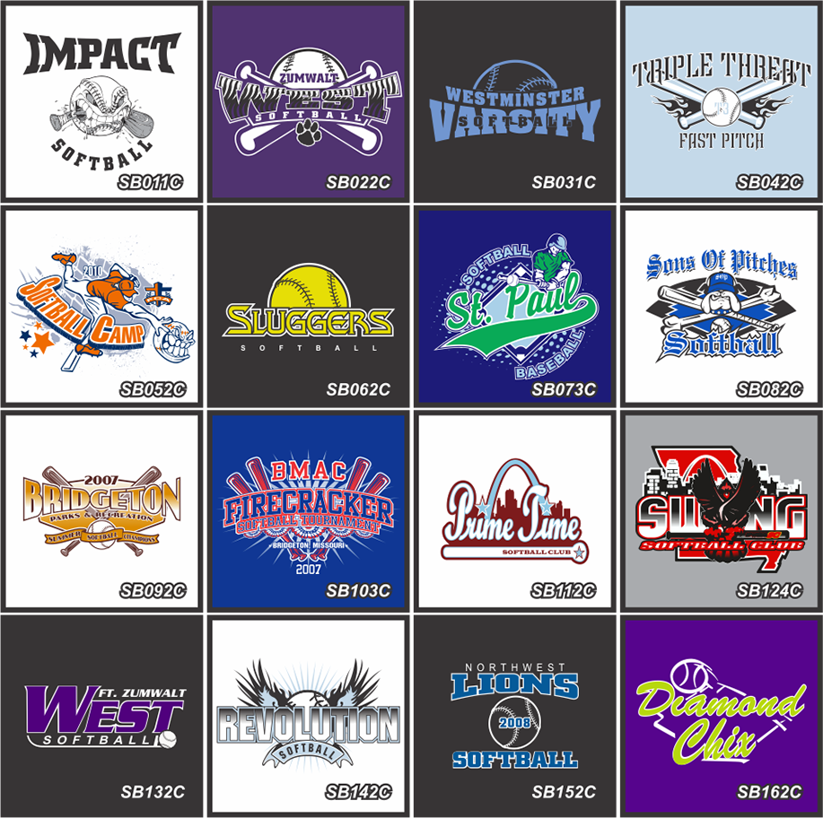 Whether It Is Softball Team Uniforms, Softball Tournament Shirts, Or Custom Softball  Shirts, STL Shirt Co.