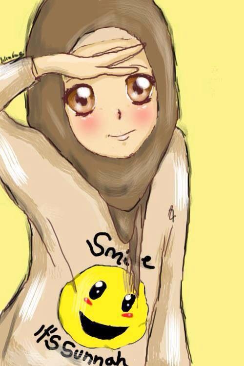 Muslim Anime Hijab