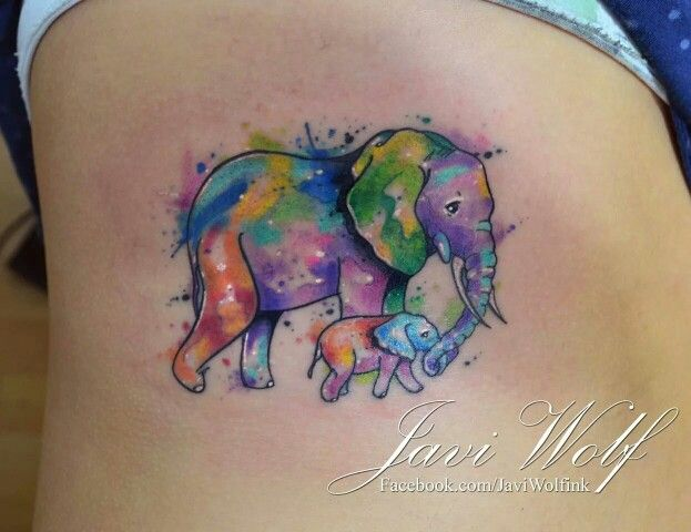 Love This Sooooo Much Watercolor Elephant Tattoos Elephant