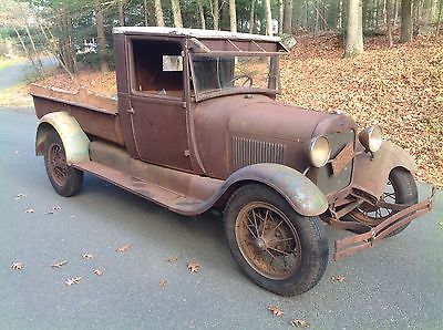 Ford Pickups Express 1928 Ford Model Aa Express Barn Find Patina