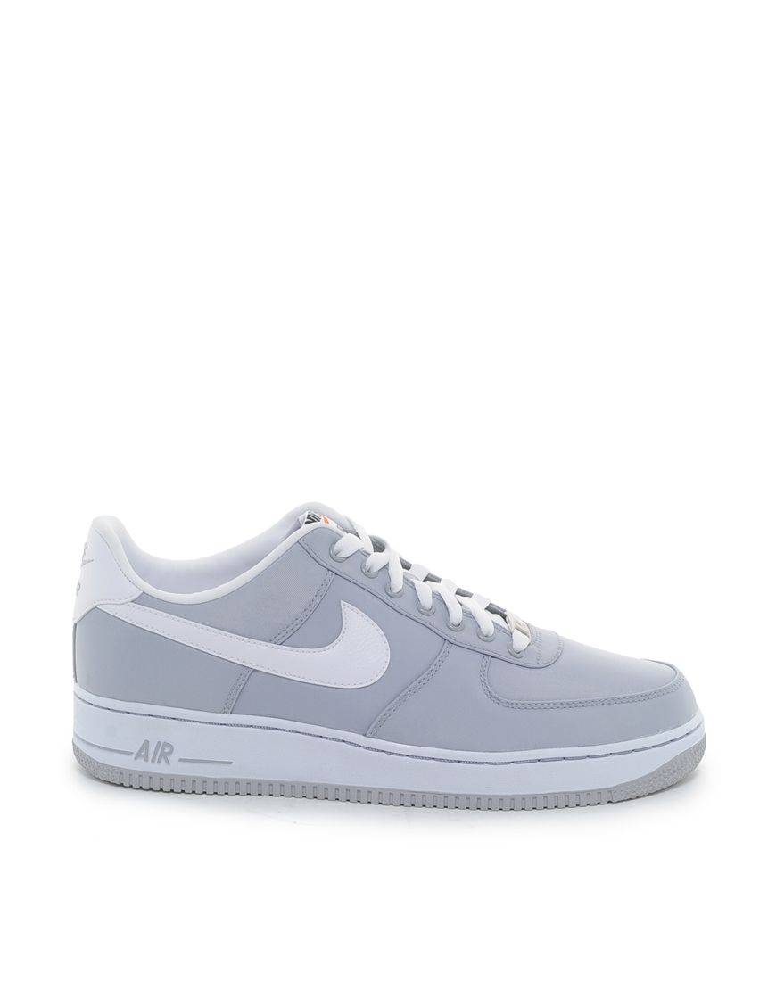#Nike Air Force 1 - Wolf Grey/White #sneakers | Dope Kicks... | Pinterest |  White sneakers, Nike air force and Air force