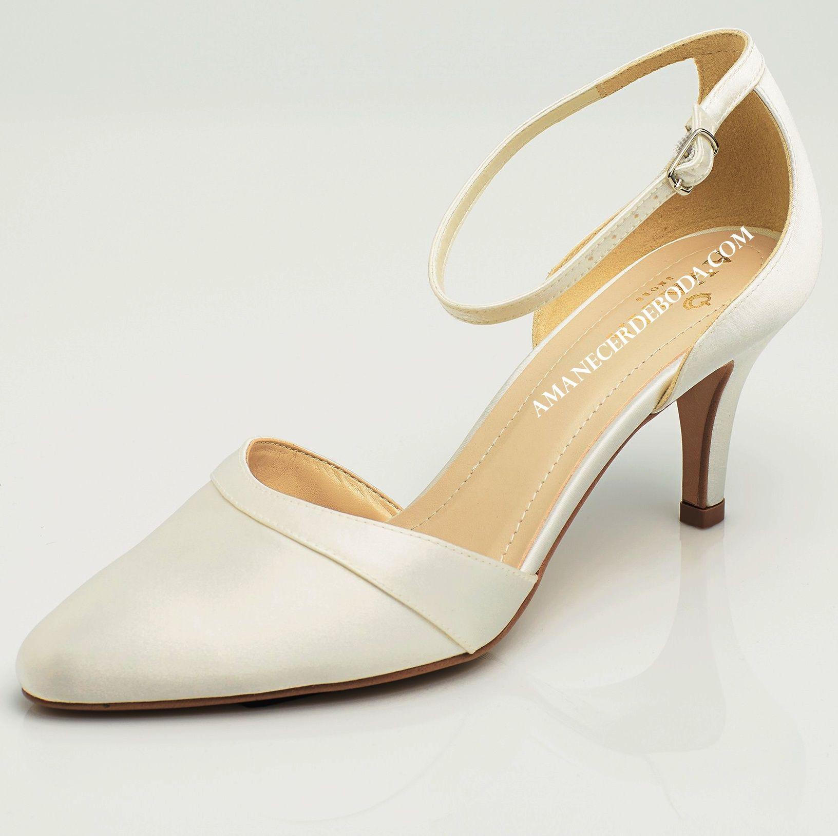 Zapatos Tacones De Novia Poco BajosCómodos Con 0Nnv8wm