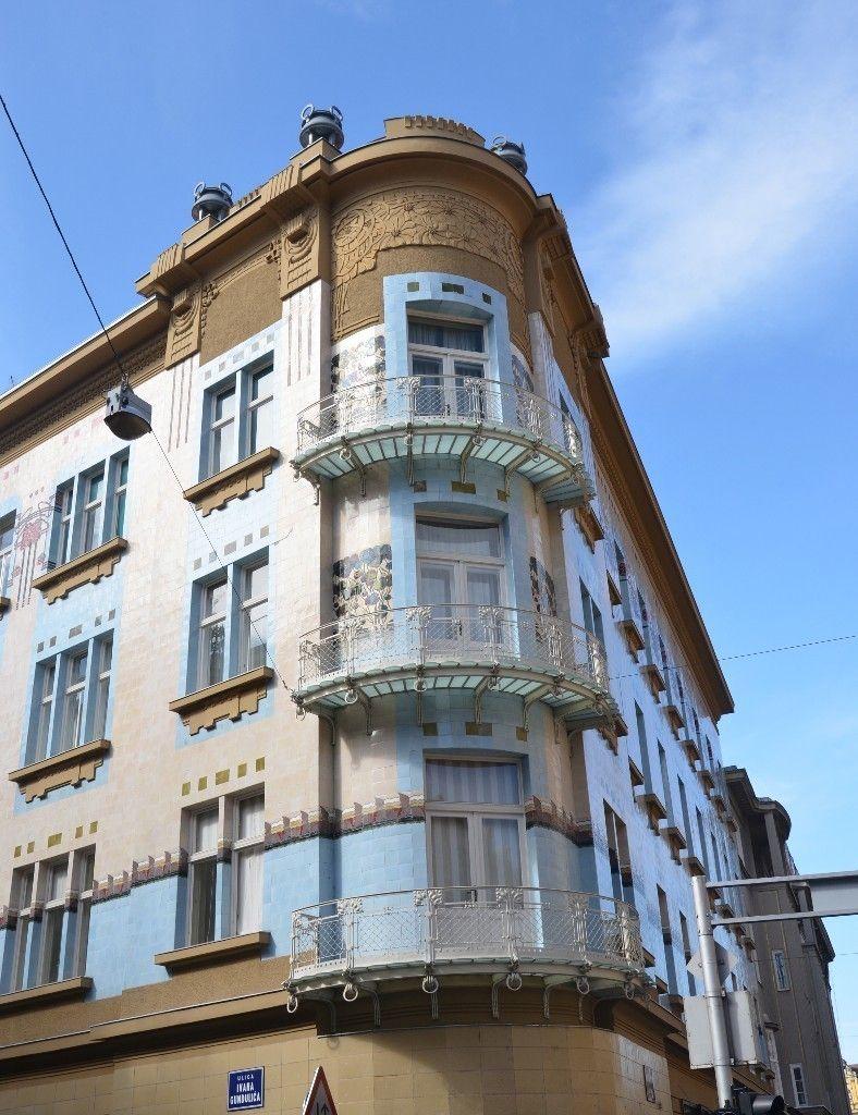 Kallina House ~ Zagreb, Croatia   Art nouveau, Zagreb ...