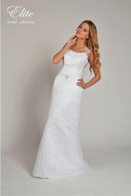 Model trouwjurk