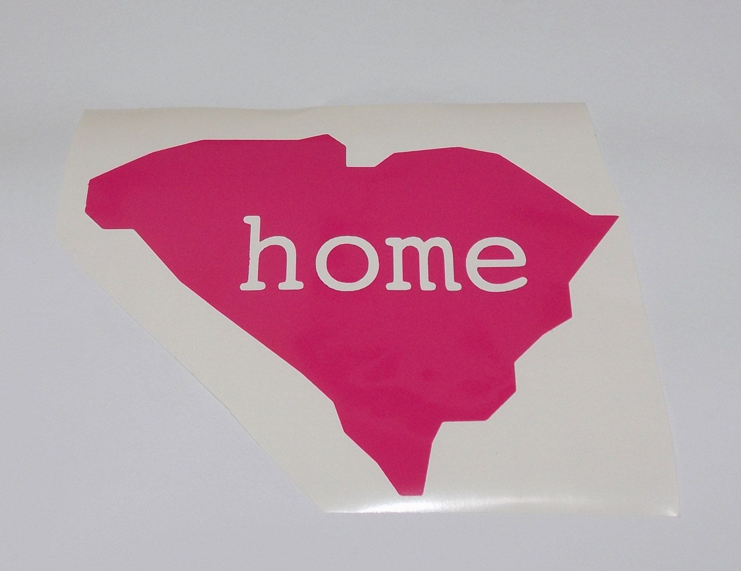 Home State Car Decal Vinyl DIY United States Via Etsy - How to make vinyl car decals at home