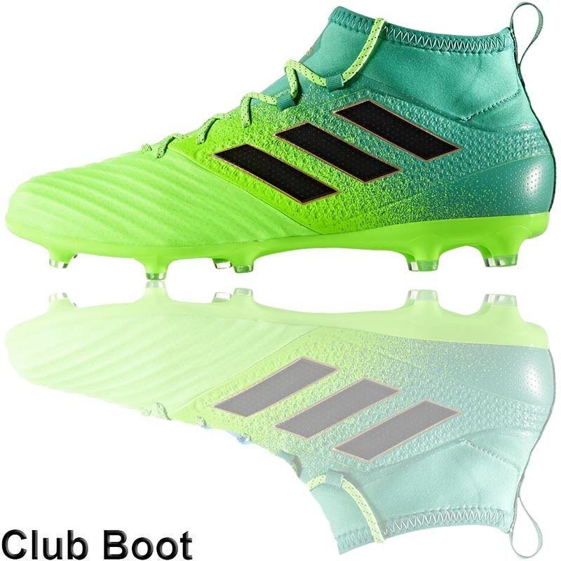 Football Nation - adidas Ace 17.2 Primemesh Boots (FG - Solar Green Black) b6aef7e31e6b9