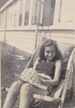 Anne Frank. Very thankful that my mother made me read and learn about her. :) Forever grateful :L)