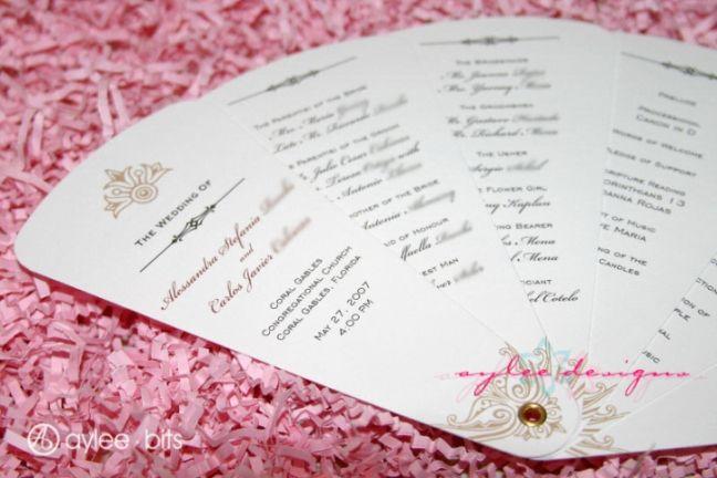 15 lovely free printable wedding program templates visit www