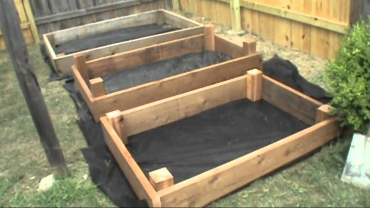 Elegant How To Build Raised Bed Box For A Garden