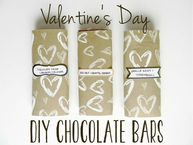Homemade Chocolate Bars for Your Valentine - Hello Nature