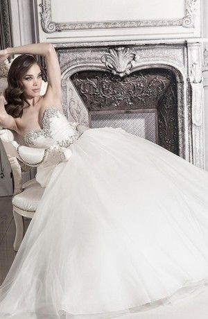 Bridal Gowns: Pnina Tornai Princess/Ball Gown Wedding Dress with ...