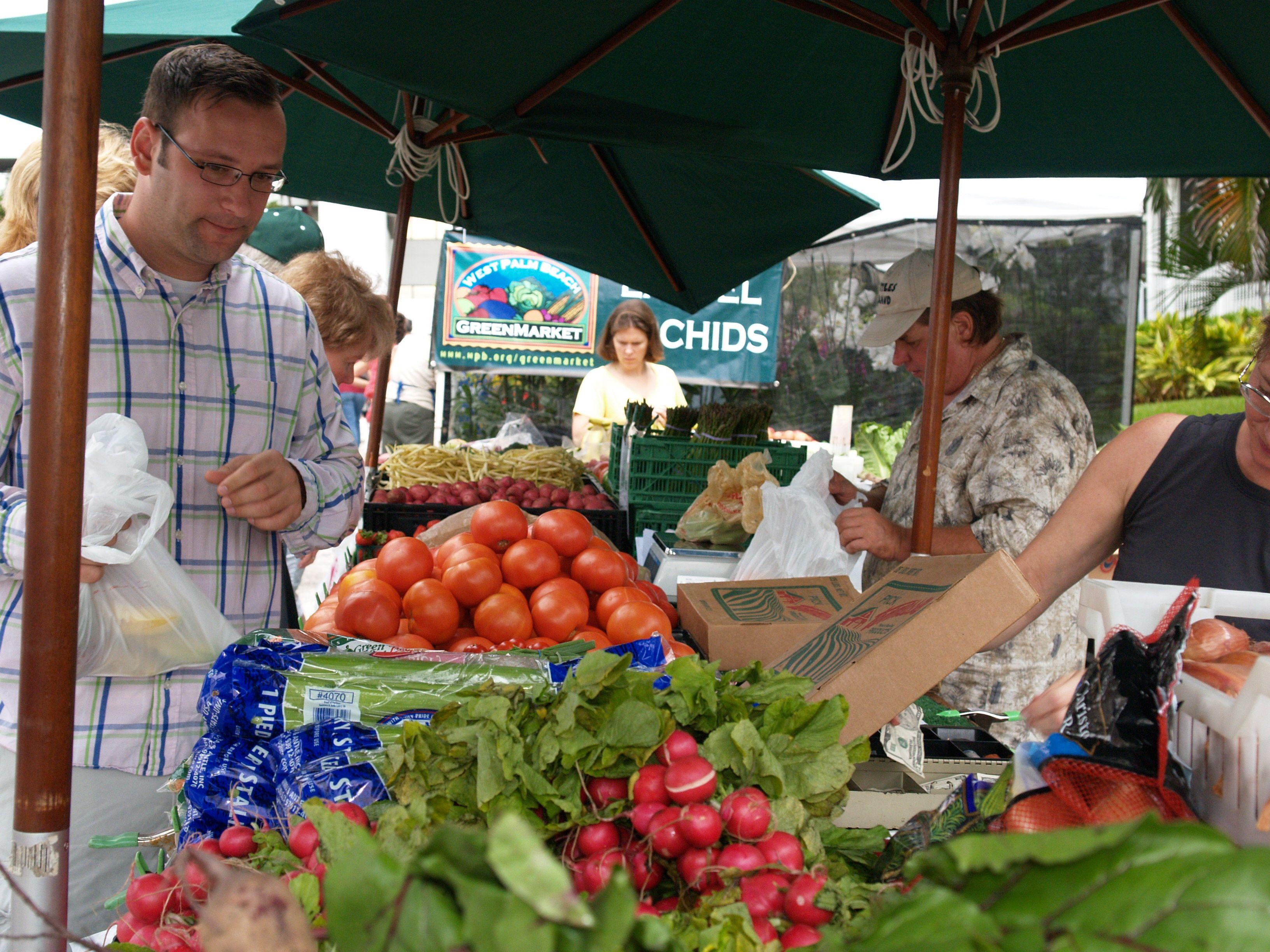 Get Local Grown Produce At The Greenmarket Greenmarket Julie Brown Merryman West Palm Beach West Palm Beach Palm Beach Beach