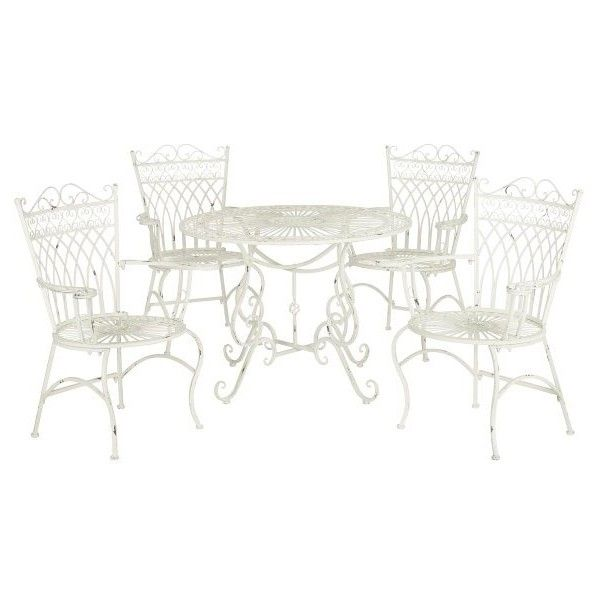 Safavieh Benson Outdoor Set (640 CAD) ❤ liked on Polyvore ...