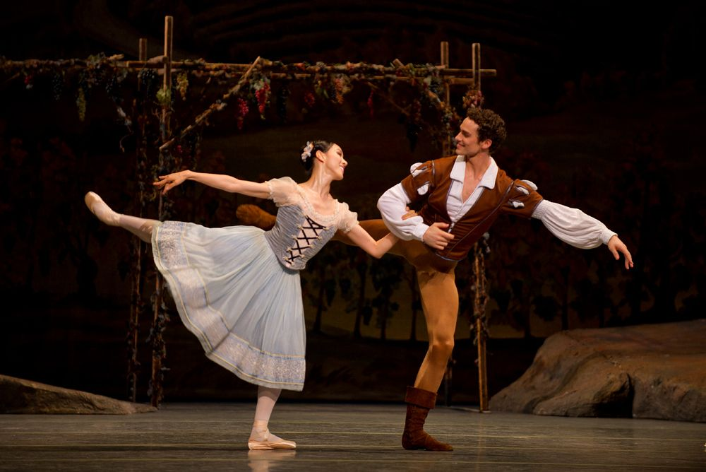 Irina Dvorovenko and Cory Stearns in The Lady of the