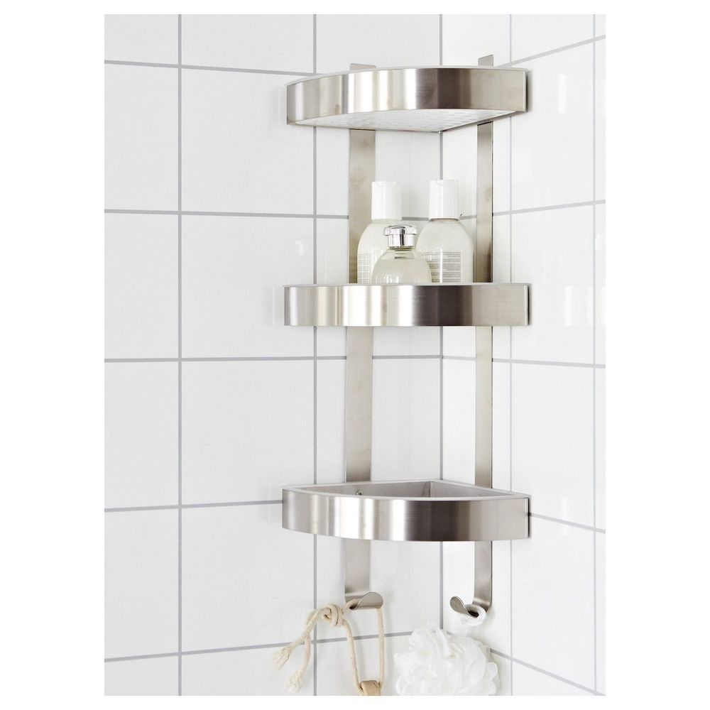 Bathroom Corner Shelf Bathroom Corner Shelf Smart Solution For