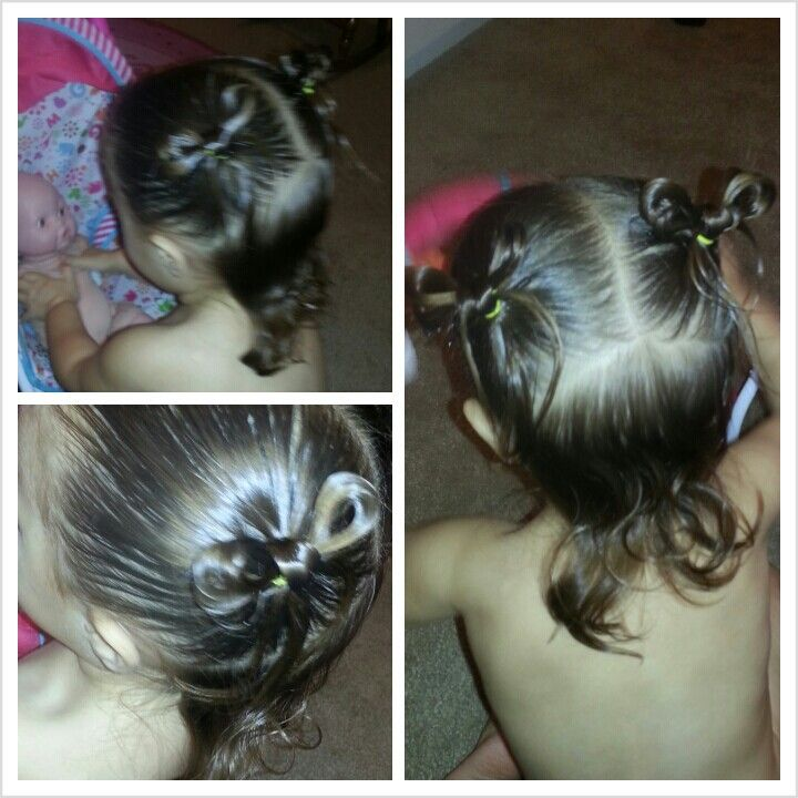 Pin By Jenny Lee On Kiddo Hairstyles Hair Styles Toddler Hair Little Girl Hairstyles