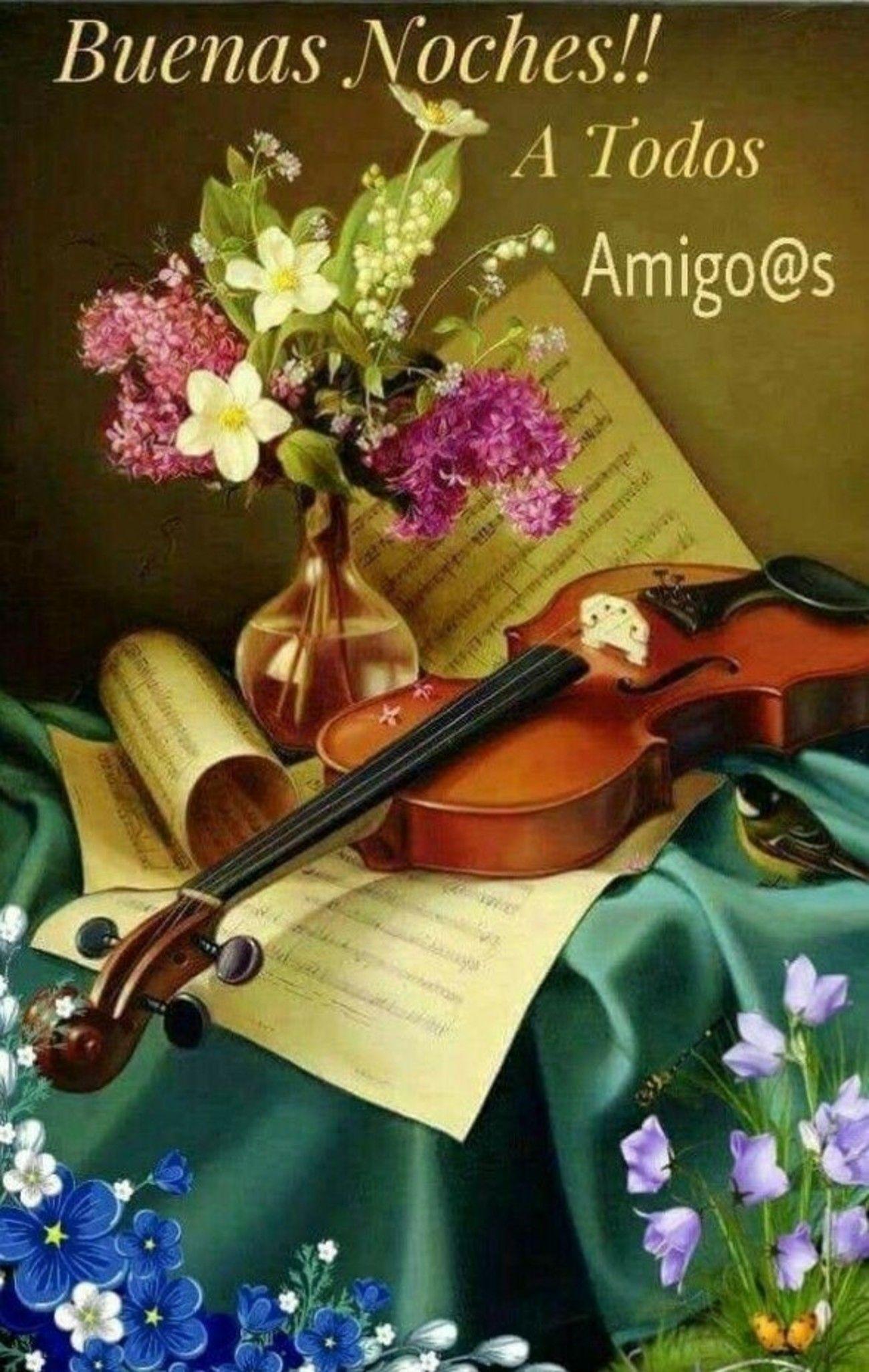 Tarjetas musicales de buenas tardes