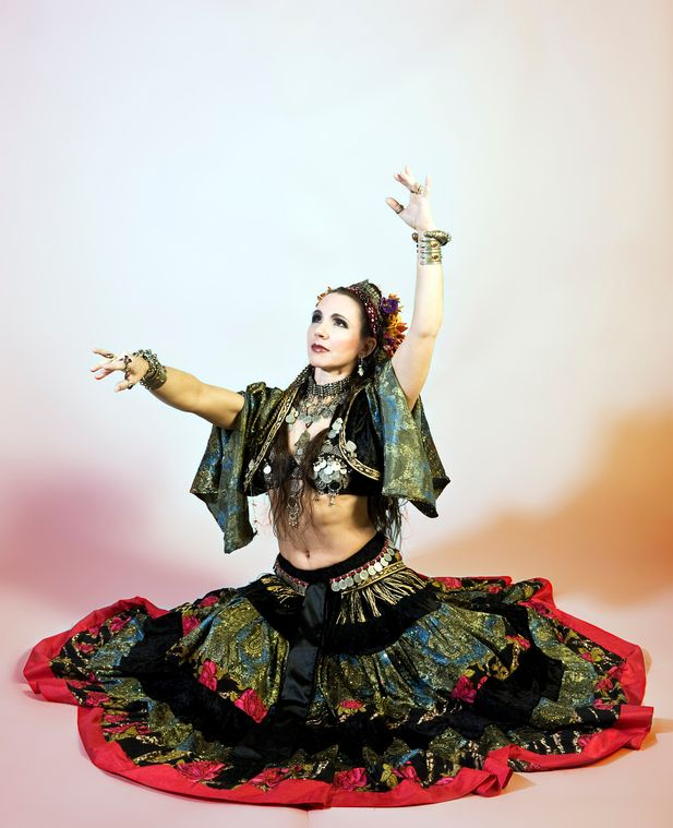 American Tribal Belly Dancer | American Tribal Style Belly Dance with Krisztina of Czigany: