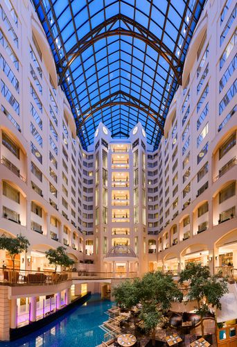 Grand Hyatt Washington At Metro Center is an ideal base for exploring the nation's capital! Average rate $379 per night.